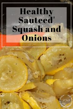 Healthy Sauteed Squash and Onions is a quick and easy side dish that only takes a few ingredients and just a few short minutes! Vegetable Recipes, Vegetarian Recipes, Healthy Recipes, Healthy Meals, Keto Recipes, Side Dishes Easy, Side Dish Recipes, Squash And Onion Recipe