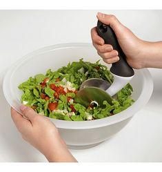 My most favorite kitchen gadget EVER!! Salad Chopper -