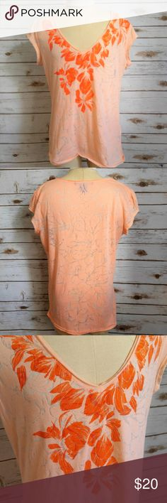 Calvin Klein Orange Laser Cut Tee Shirt Calvin Klein Orange Laser Cut Tee Shirt  Size Large in excellent used condition. Please feel free to ask any questions or bundle with other listings in my closet for a custom discount on your order. I ship the same day as long as the order is placed before 11:00 AM Central time. If you would like to be notified about price drops remember to 'like' the item to bookmark it! Thank you for checking out my closet and happy poshing!! Calvin Klein Tops Tees…