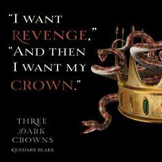 THREE DARK CROWNS Quote #2