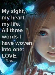 Woven. ........ Rumi style.