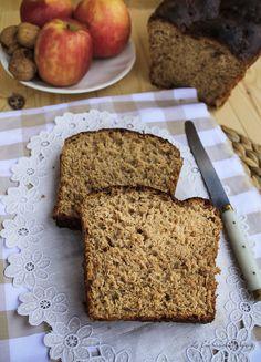 Pan de molde integral con manzana, zanahoria, yogur y nueces   La Cucharina Mágica