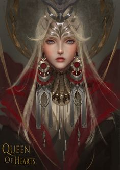 ArtStation - Queen Of Hearts, Yan Chuan