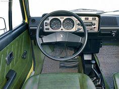 Volkswagen Golf 1974 interieur