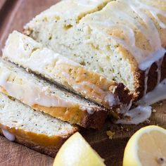LEMON POPPY SEED BREAD Really nice recipes. Every hour. Show me  Mein Blog: Alles rund um Genuss & Geschmack  Kochen Backen Braten Vorspeisen Mains & Desserts!