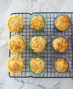 Easy Thermomix Apple and Cinnamon Muffins