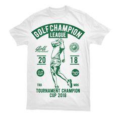 Golf Champion League Custom t-shirts