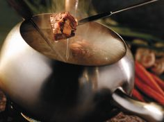 Need something for the entrees? Try our popular Coq au Vin cooking style at home with this recipe from our official cookbook, which features special discounts for #TheMeltingPot valued at around $40! Approximate discount value varies by location. Purchase your own cookbook here: http://shop.meltingpot.com/category/53-gifts.aspx