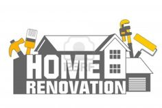Home Renovation icon. An illustration of home renovation icon and tools , Corpus Christi, Bauunternehmen Logo, Home Renovation, Home Remodeling, Handyman Logo, Shah Alam, Art Deco Design, Image House, Home Repair