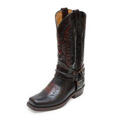 17175 Bota Piel Marron #Sendra #Outlet #Boots