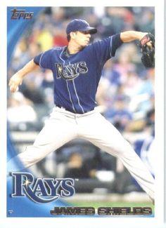 2010 Topps #195 James Shields - Tampa Bay Rays (Baseball Cards) by Topps. $0.88. 2010 Topps #195 James Shields - Tampa Bay Rays (Baseball Cards)