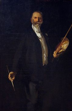 William Merrit Chase by John Singer Sargent American 1856-1925
