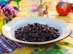 "Cuban-Style Black Beans (Fiesta Night) - Tiffani Thiessen, ""Dinner at Tiffani's"" on the Cooking Channel."