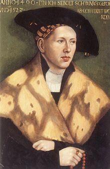 Sebolt Schwartz, 1523, Hans Brosamer