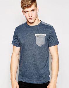 Firetrap Denim Logo Back T-Shirt at asos.com c5706b3a0009