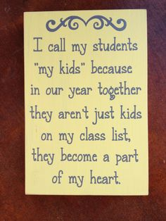 Customized I Call My Students My Kids Because by FussyMussyDesigns