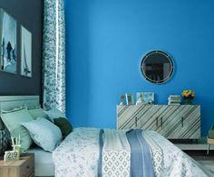 teals-blues-colour-shade-asian-paints-7326 Asian Paints Colour Shades, Asian Paints Colours, Paint Shades, Color Shades, Home Paint Colour, Wall Paint Colors, Bedroom Wall Designs, Bedroom Wall Colors, Wall Colour Texture