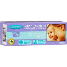 Lansinoh Lanolin Nipple Cream soothes and protects sore and cracked nipples and dry skin. Perfect for breastfeeding mothers. No taste, colour or smell to d Baby Squid, Breastfeeding Help, Cracked Skin, Dry Skin, How To Remove, Pure Products, Mothers, Cream, Post Partum