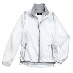Genuine Mercedes Benz Women's Light Weight Jacket- Size Extra Large Brand new genuine Mercedes Benz Women's Light Weight Jacket- Size Extra Large. Ash City jacket with contrast triple converstitch on shoulder, sleeves and above front pockets and back panels.. Easy care, water resistant finish.. Stylish Mercedes Benz logo along left front pocket.. White..  #Mercedes-Benz #Automotive_Parts_and_Accessories