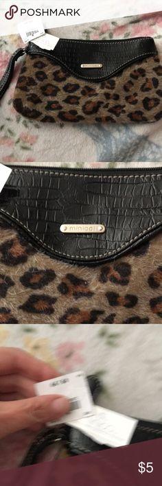ef44246ddbd9 Cute little leopard clutch Eek! It's so cute to Wear with Jeans and a black