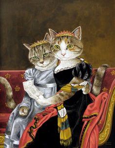 """""""Zénaïde & Charlotte Bonaparte (Jacques-Louis David)"""" par Susan Herbert"""
