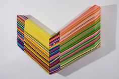 Trembling Edge. Fabrics, Thread, Wood. Jen Pack