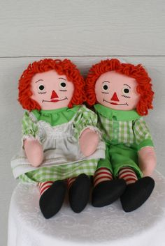 Raggedy Ann and Andy.