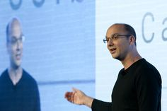 Former Android Leader Andy Rubin Leaving Google - THE WALL STREET JOURNAL #AndyRubin, #Android, #Google