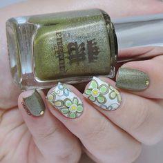 Beautiful nail - Vintage floral