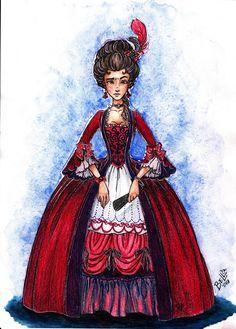 Gwendolyn Shepherd (Rubinrot by Kerstin Gier) by BELL`ova