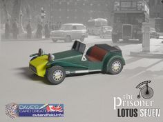 Lotus Seven Paper Model by Dave Winfield - Dave's Card Creations © www.cutandfold.info