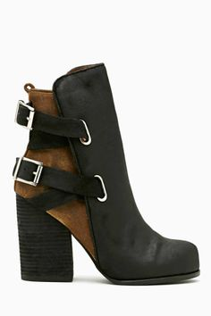 Jeffrey Campbell Mamet Buckled Boot