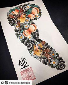 japanese tattoo designs sleeve Supply by vonhattencule Japanese Flower Tattoo, Japanese Tattoo Designs, Japanese Sleeve Tattoos, Irezumi Tattoos, Marquesan Tattoos, Hand Tattoos, Tribal Tattoos, Body Art Tattoos, Polynesian Tattoos