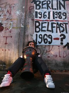 Why Northern Irelands Peace Walls Show No Signs Of Following Berlins Example