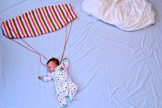 Infant Art / Skydiver - sleeping baby