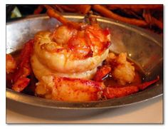 Recipes from Around the World: Piquant Lobster