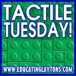 Tactile Tuesdays - link to a post of using tactile activities for learning