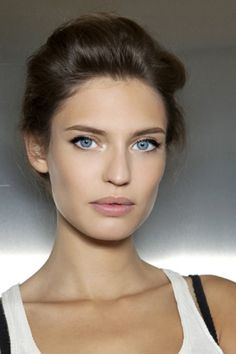 Natural beauty - Spring 2013. #hair #beauty Visit www.makeupbymisscee.com for hair and beauty inspiration