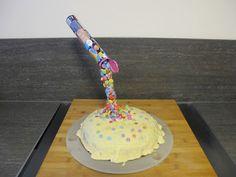 Ofenschmaus: Anti - Schwerkraft - Smarties Kuchen