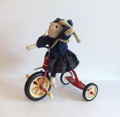 Radio Flyer Tricycle Miniature Red bike. $40.00, via Etsy.