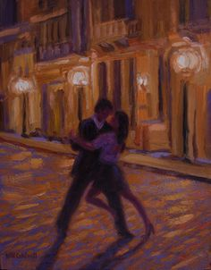 tango dancer art