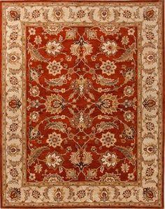 Jaipur Rugs Inc Hand Tufted Selene Red Oxide Sand 2 6 B