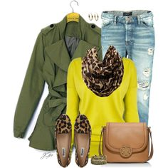 """""""One Yellow Item"""" by jgee67 on Polyvore"""