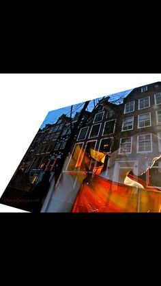 Surreal art photography. Maidens of Amsterdam. Red Light District.