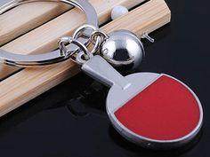 HJ058 Table Tennis Keyring Sports Classic  Pendant Key Bag Chain Creative Gift Check out http://ift.tt/1Xkh5RL