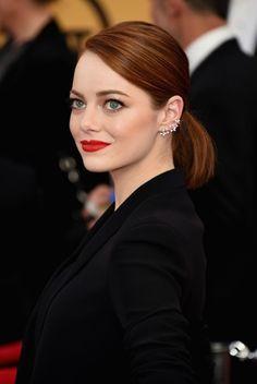 Emma Stone capelli ronze