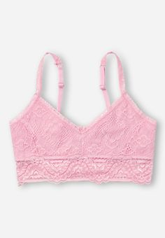0a9c84fa064 Allover Lace Bralette Tween Girls