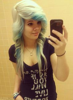 Love this i wish i could get my hair like this