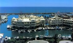 Puerto Marina- leisure port in Benalmádena Costa, beautiful place with unique atmosphere