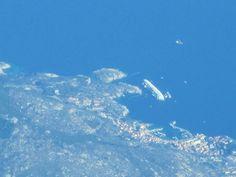 Costa Concordia from above